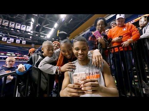 Illini Basketball All-Access | Hill Sweeps Mizzou