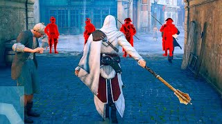 Assassin's Creed Unity Ezio s Outfit & Mace Combat Free Roaming Ultra Settings