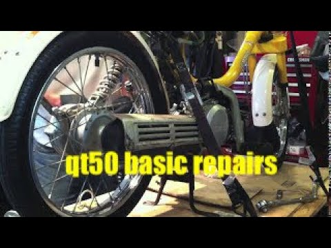 Yamaha QT50 basic repairs with full audio take 2
