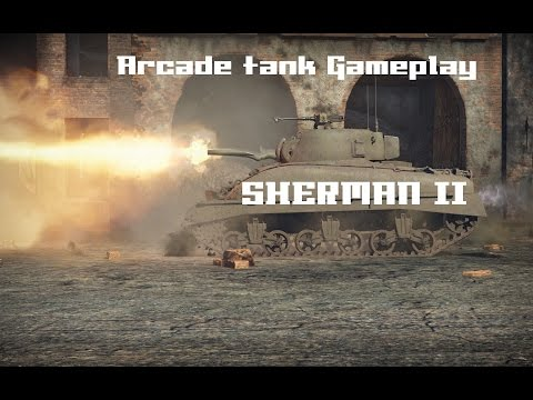 Sherman II - AB Gameplay  / Cleaning Berlin