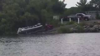 boat launch fail caswell August 8, 2015