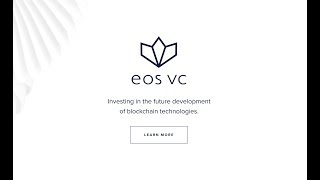 How to Get Funded by EOS VC (Billion Dollar Dapp Fund!)