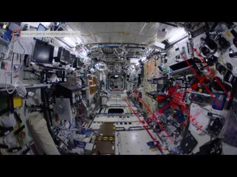 Epic Space Station Tour Through Fish-Eye Lens | NASA Video