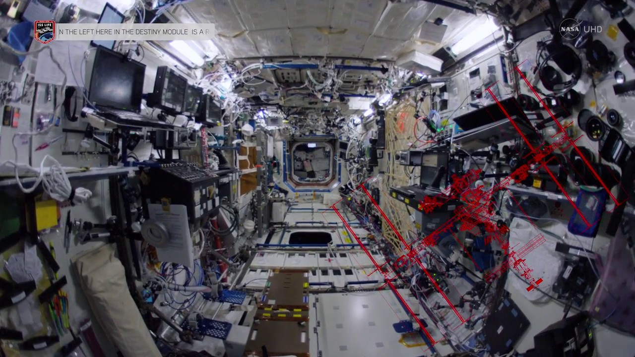 Tour the whole ISS with this epic hour-long, one-take astronaut video