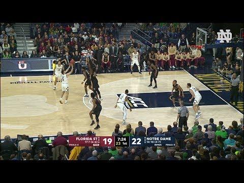 Highlights | @NDmbb vs. Florida State (2018)