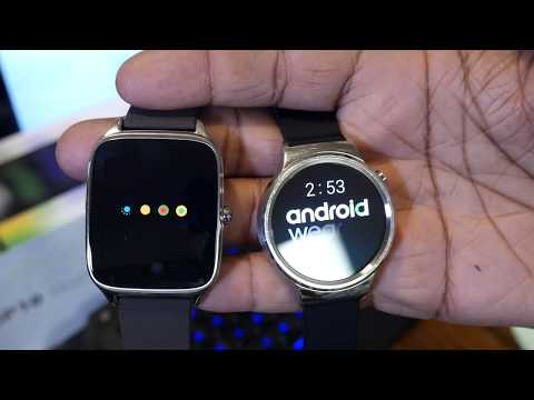 Zenwatch 2 Android Wear 2.0 Finally Updated! Better than Huawei Watch?