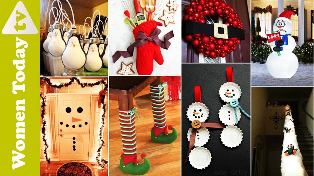 ❄ ☃ Kho Ý Tưởng Trang Trí Noel _ Phần 3 | DIY Christmas recycled decoration