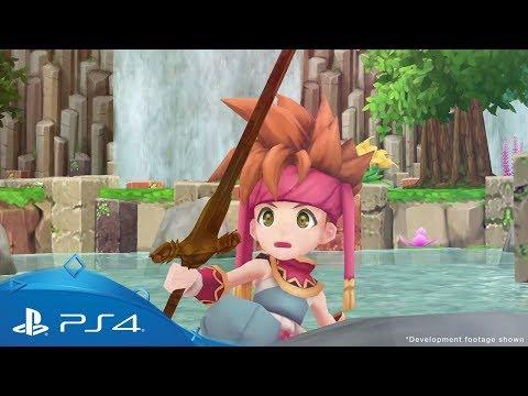 Secret of Mana   Reveal Trailer   PS4