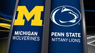 Big Ten Basketball Highlights - Michigan at Penn State