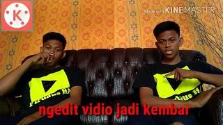 Cara ngedit Vidio jadi kembar mengunakan Kine master ( Firdaus ha )