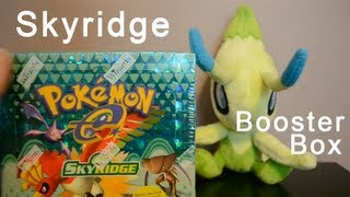 Opening a Skyridge Booster Box! Amazing pulls!