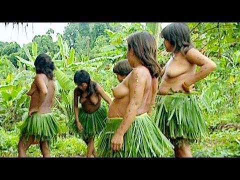 Yanomami Woman Dancing