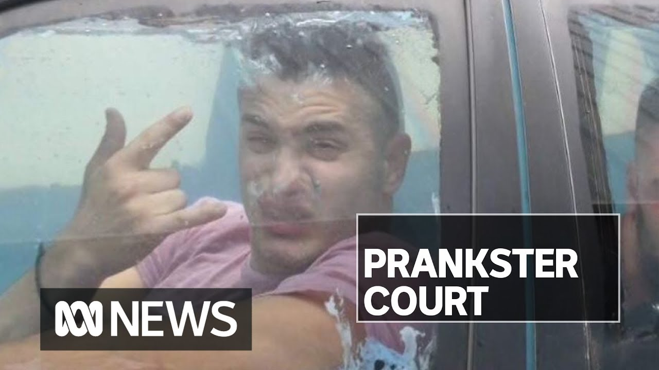 RackaRacka YouTube prankster in court for 'scuba driving' water-filled car to bottle shop