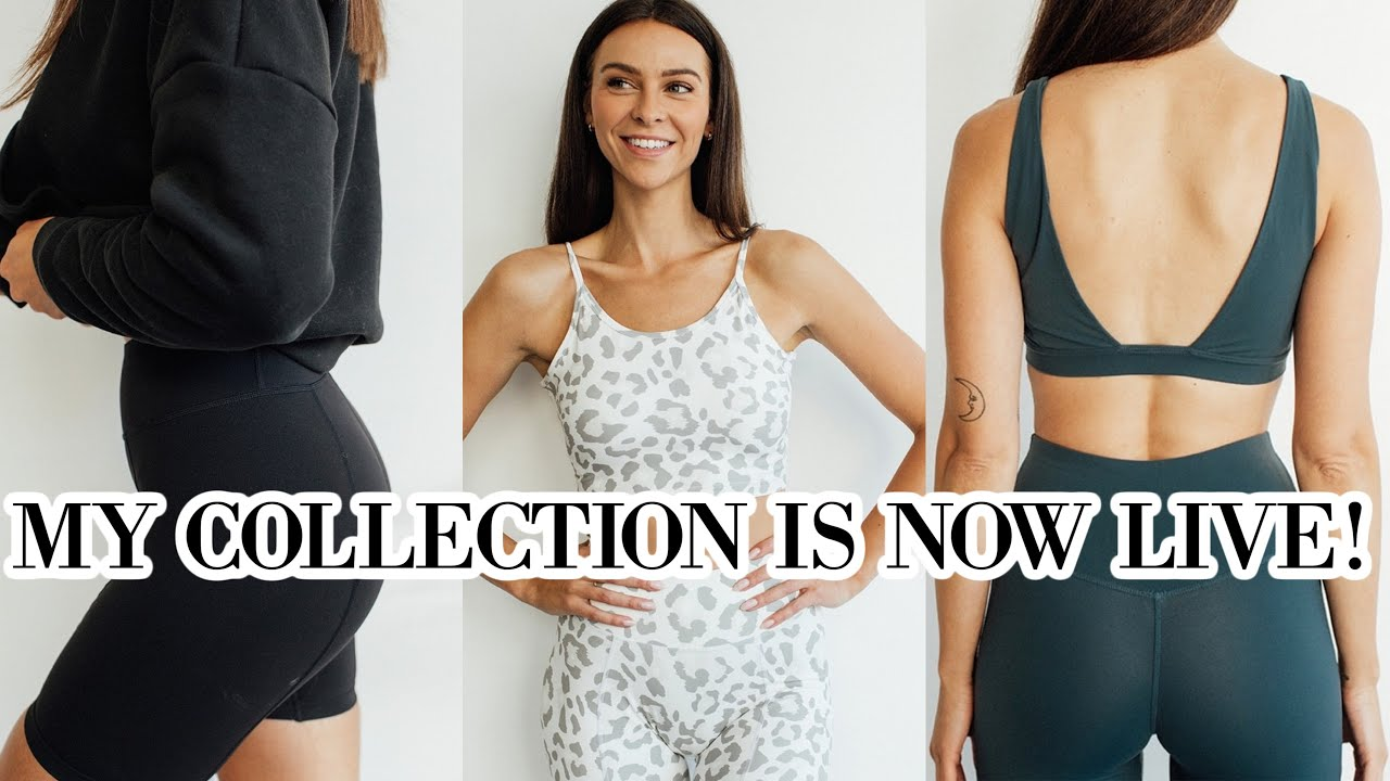 MY SUSTAINABLE ACTIVE / LOUNGE WEAR COLLECTION IS HERE! *limited time*