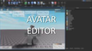 Avatar Editor | Roblox Studio