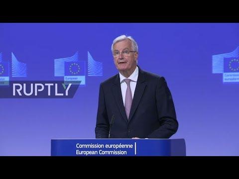 LIVE: EU's Chief Brexit Negotiator Michel Barnier holds press conference