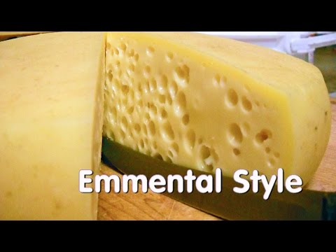 Making Emmentaler Style (Swiss Cheese) At Home