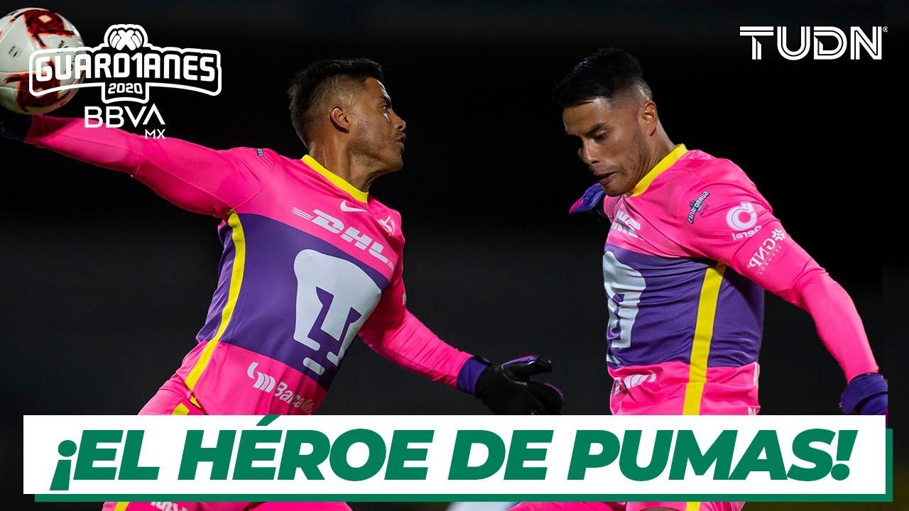 ¡Talavera, el nuevo salvador de Pumas! | Pumas vs Monterrey | TUDN