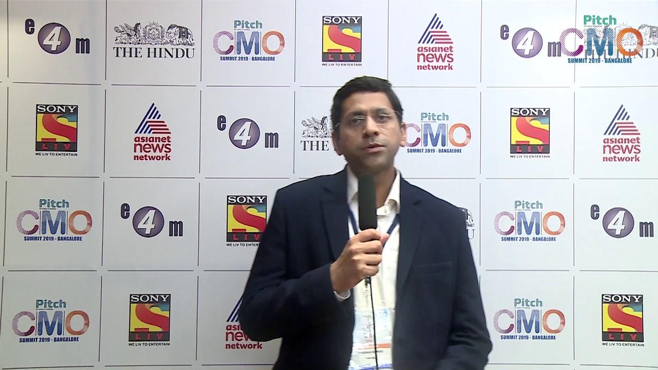 Anurag Kumar at Pitch CMO Summit, Bangalore