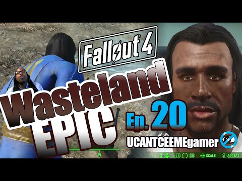 Fallout 4 - Wasteland Epic - Ep 20 - Cleansing the Commonwealth - BrotherHood of Steel - Guide