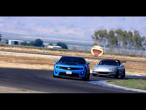 Buttonwillow - May 25, 2015 - Miata VS Camaro