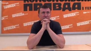 Создатель авторского проекта #Гуднайтшоу Валерий Жидков