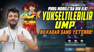 PUBG Mobile ÇILDIRMIŞ! YÜKSELTİLEBİLİR UMP! PUBG Mobile Sandık Açılımı