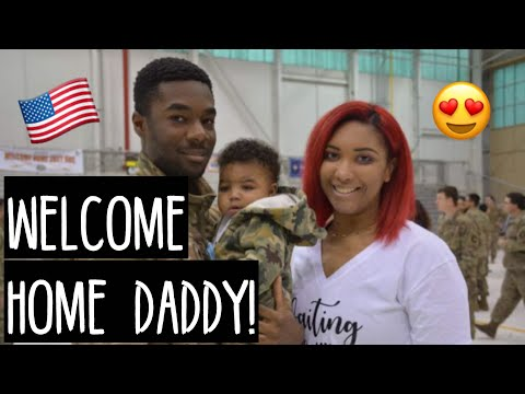 DEPLOYMENT HOMECOMING - Welcome Home Babe!!