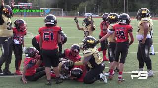 🔥🤘🏽 Heir Football  9U vs. Parkland Raiders