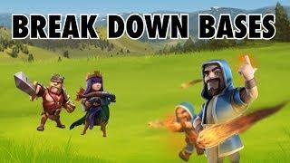Sometimes Weird Bases Require Weird Strategies | Clash of Clans