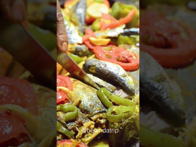 Cous Cous y pescado al estilo marroquí / Marruecos / Blog de viajes / #Shorts