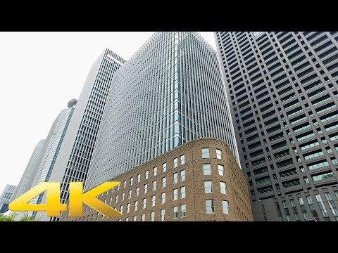 Walking around Nakanoshima area, Osaka - Long Take【大阪・中之島】 4K