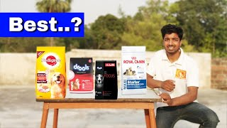 Which is best dog food brand // with 100% proof