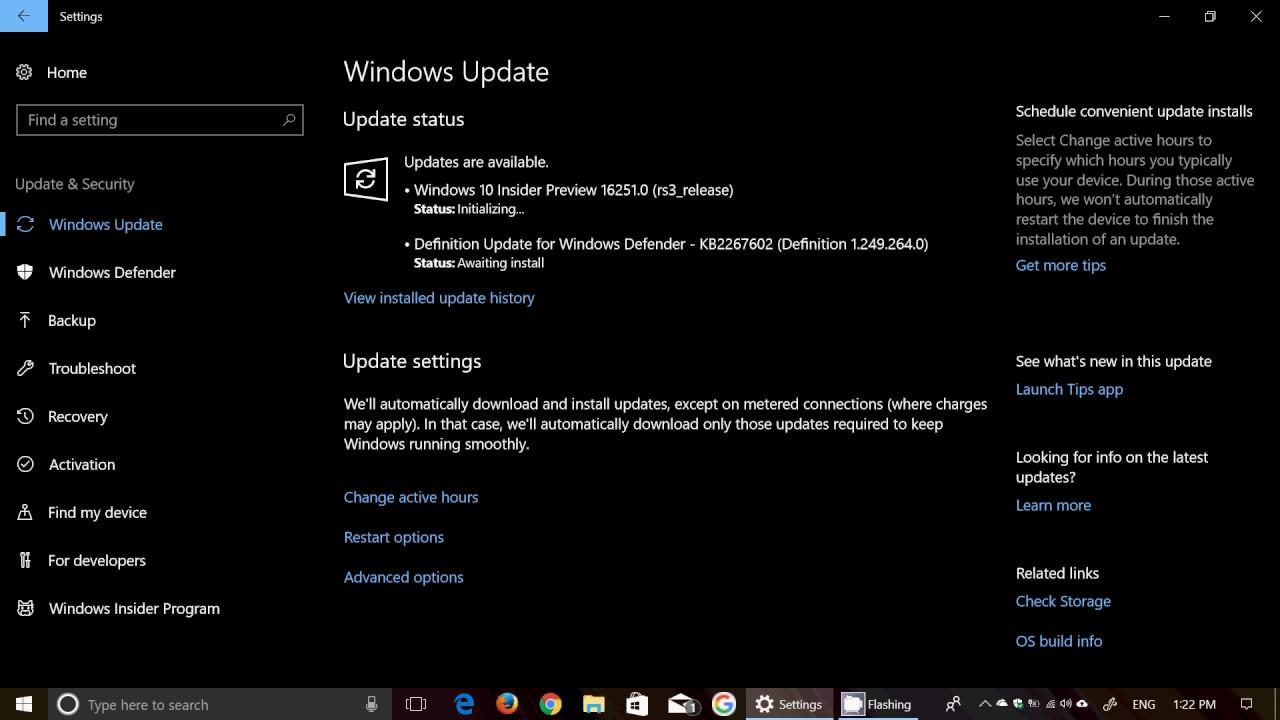 windows 10 update july