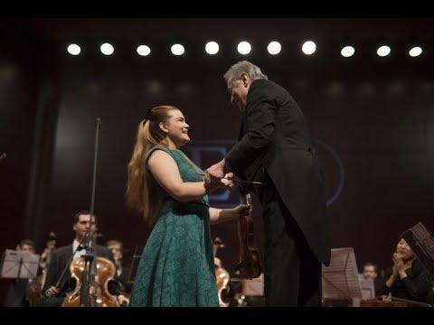 Ellinor D'Melon (15) / Zubin Mehta  - W.A.Mozart Concerto Nº5