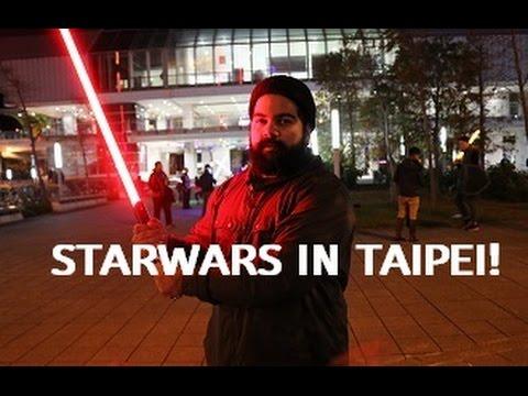 lightsaber fight in taipei