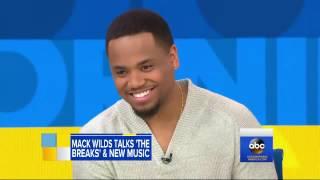 Mack Wilds talks new music and shares best advice from 'Uncle' Jay Z