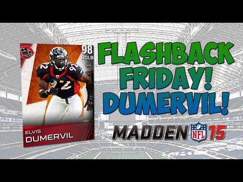 Elvis Dumervil! Flashback Friday! - Madden 15 Ultimate Team | Epic Flashback Pack Pull