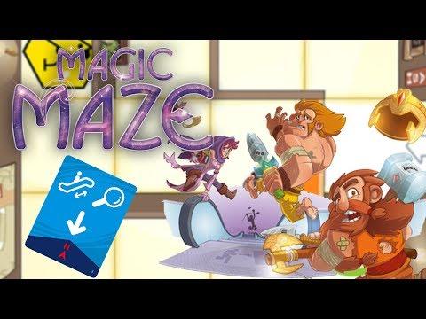 Reseña de Magic Maze - Juego de mesa