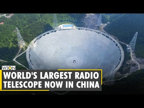 China to open world's largest telescope to the international experts in 2021 | F.A.S.T. | World News