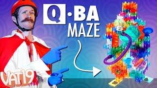 Make a crazy marble run with Q-BA-MAZE 2.0 Marble Maze Stunt Sets