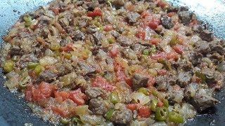 En lezzetli sac kavurma tarifi - Püf noktalarına dikkat - Yemek Tarifleri