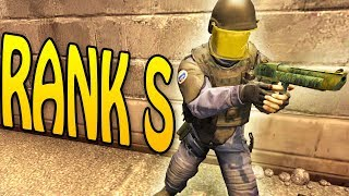 PLAYING AGAINST 3 RANK S ON ESEA - CSGO COMPETITIVE
