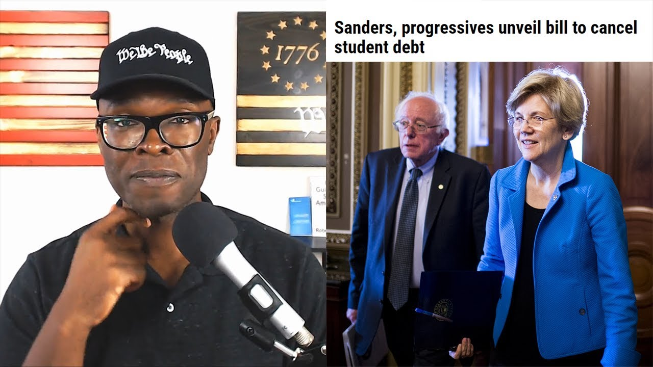 Anthony Brian Logan Bernie And Pocahontas Plan To CANCEL Student Loan Debt! How?