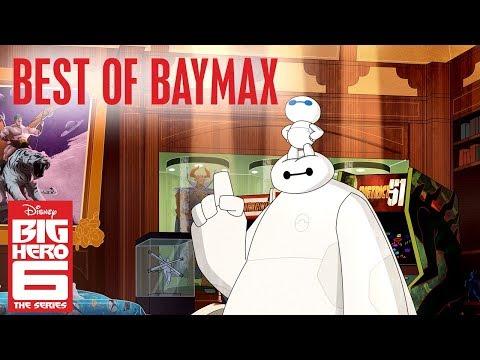 Baymax's Best Moments! | Big Hero 6 | Disney Channel