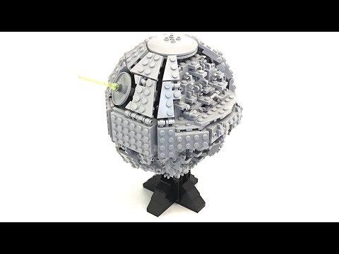 [MOC-Review] LEGO Star Wars - Custom Midi Scale Death Star By 집중 (Jib Jung)