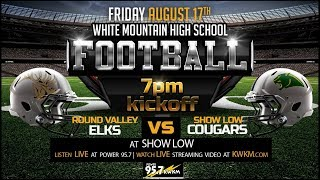 Round Valley Elks vs Show Low Cougars High School Football
