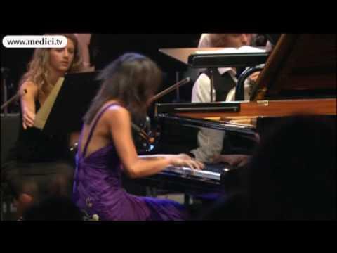 Mendelssohn piano Concerto No. 1 - Yuja Wang, Kurt Masur