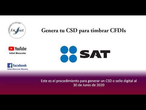 Genera Sello Digital o CSD para timbrar Cfdis