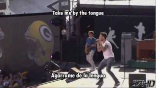 Maroon 5 - Moves Like Jagger HD Live @ NFL Kickoff Subtitulado Español English Lyrics